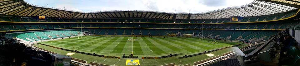 Twickenham Stadium, United Kingdom.