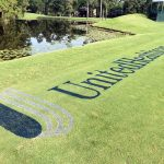 United Healthcare grass sign